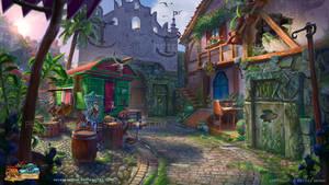Nightmares from the Deep - Adventure |Town Gate by PeterKmiecik