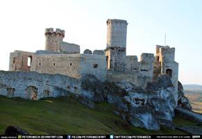Castle Rocks Grass Sky Karst CC Free Stock by PeterKmiecik