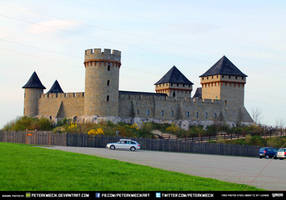 Free Stock Castle Stronghold Citadel Fortres Grass by PeterKmiecik