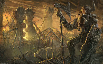 Metal Guy #digitalpainting by PeterKmiecik