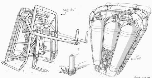 Jetpack #sketch by PeterKmiecik