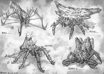 Spiders #sketches