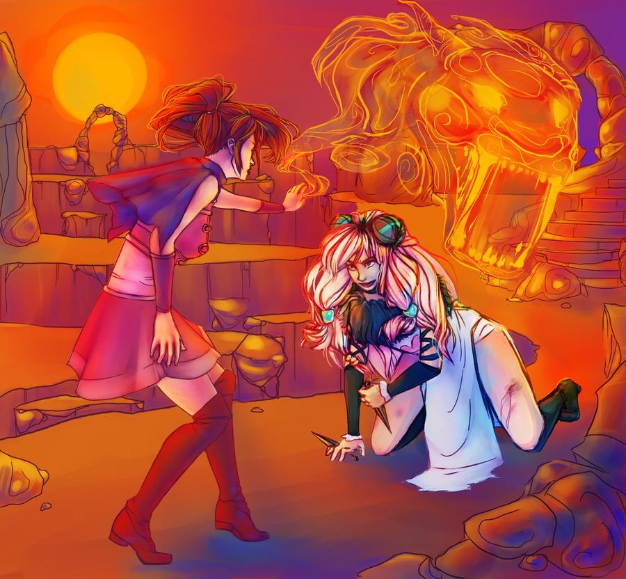 Fume (Re-do!) by RandomPedestrian