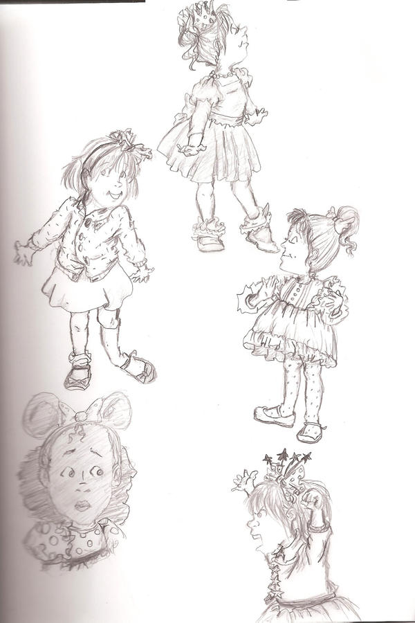 junie b jones sketchdump by gifted2212 - Junie B Jones Coloring Pages