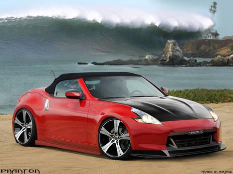 Nissan 370z red