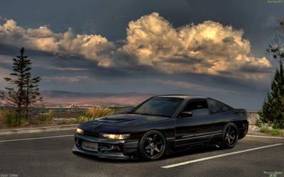 Nissan Silvia Black.