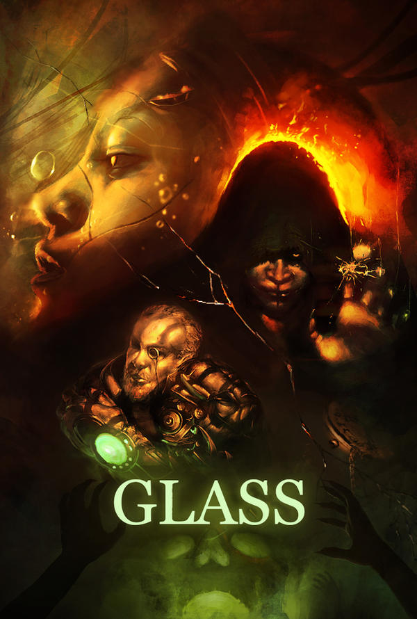 Glass promotional art practice (placehold type) by NoxEvo