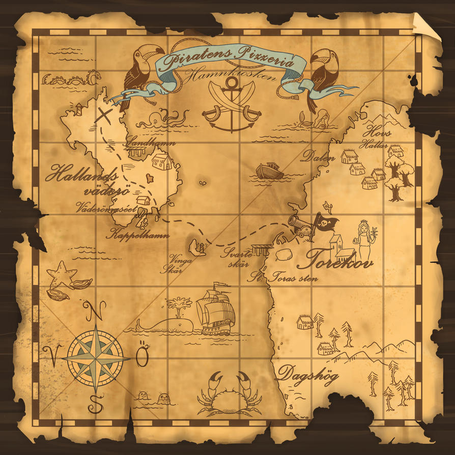 simple treasure maps vintage - photo #31
