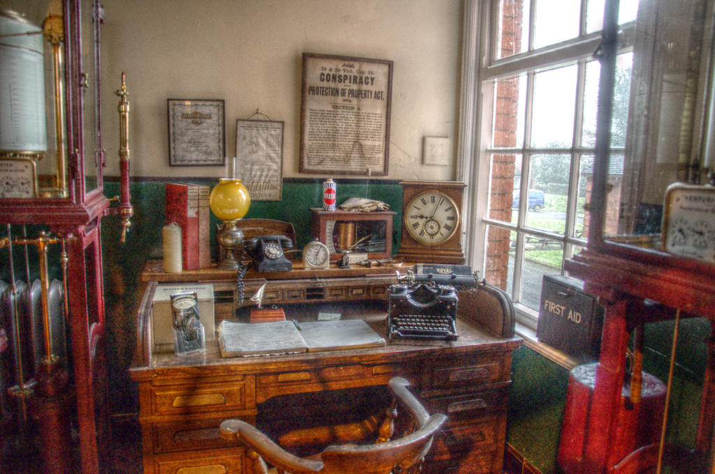 Managers office by teslaextreme