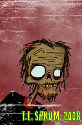 TEENAGE ZOMBIE by kidschlocko