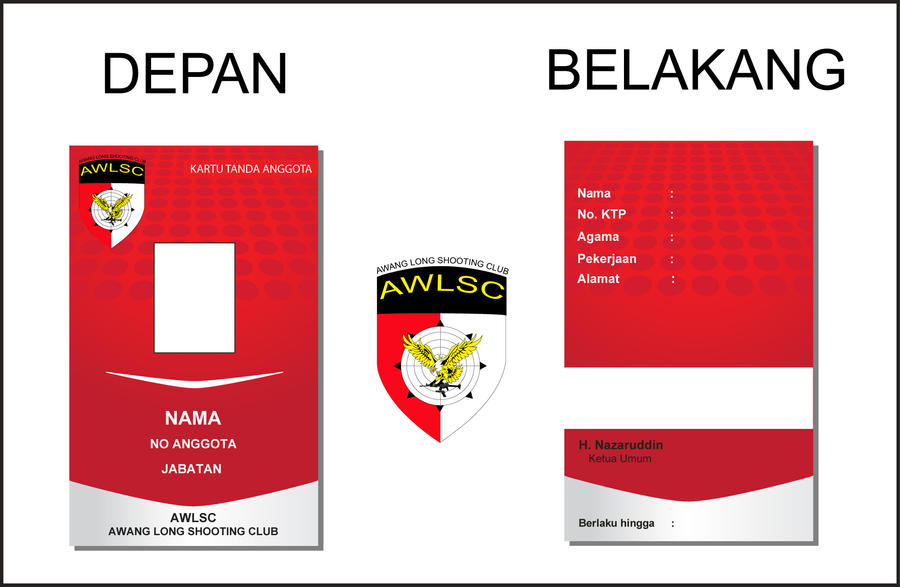 Id Card Design Examples
