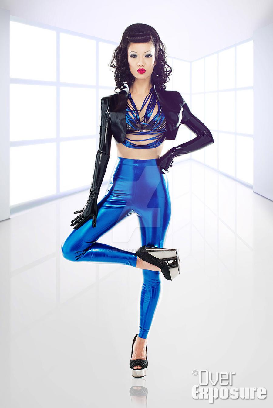Jade Vixen: Jade Vixen Wearing Ego Assassin By My-over-exposure On