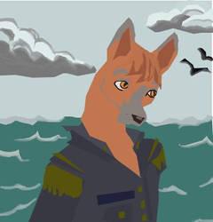 The Tox Fox Cap'n by TheChloeKazoo