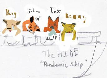 Pandemic ship scribbllleeeee by TheChloeKazoo