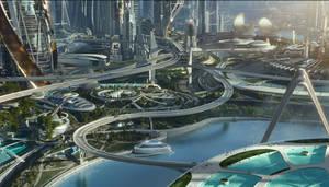 Tomorrowland cityscape 1