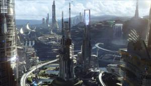 Tomorrowland cityscape 2