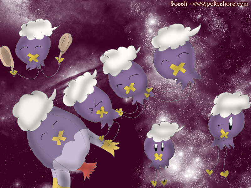 Drifloon Swarm - For Contest by sossli