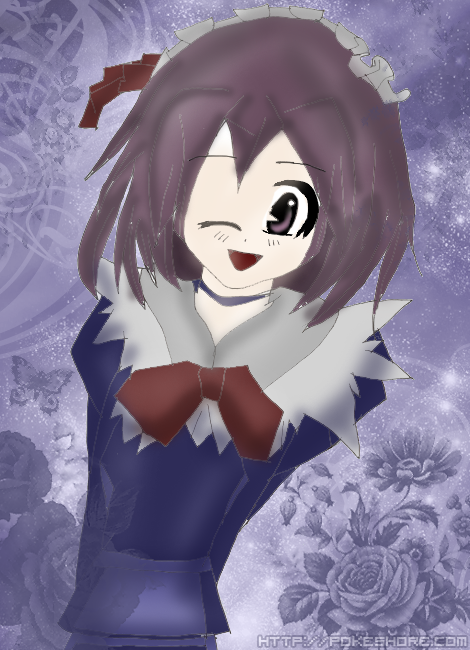 Manga Girl - Colored by sossli