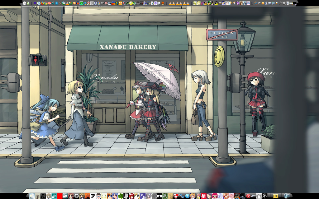 Desktop Screenshot touhou by Magedark9