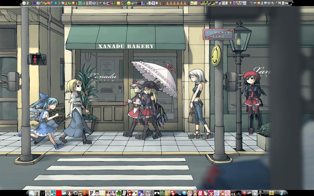 Desktop Screenshot touhou by Magedark9