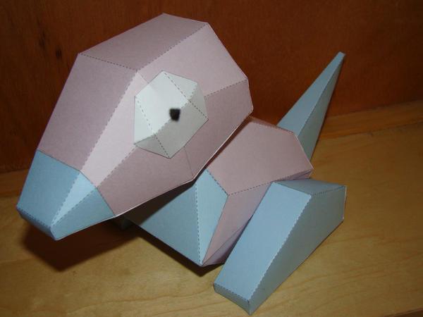 Porygon papercraft by Magedark9