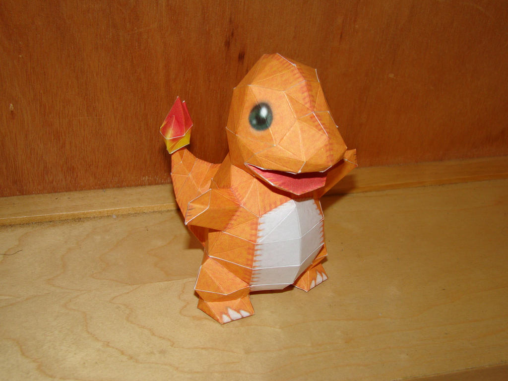 Charmander Papercraft by Magedark9