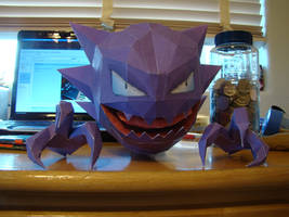 Haunter Papercraft by Magedark9