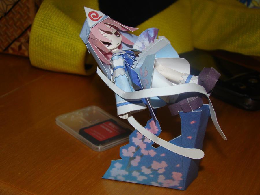 Yuyuko Papercraft by Magedark9
