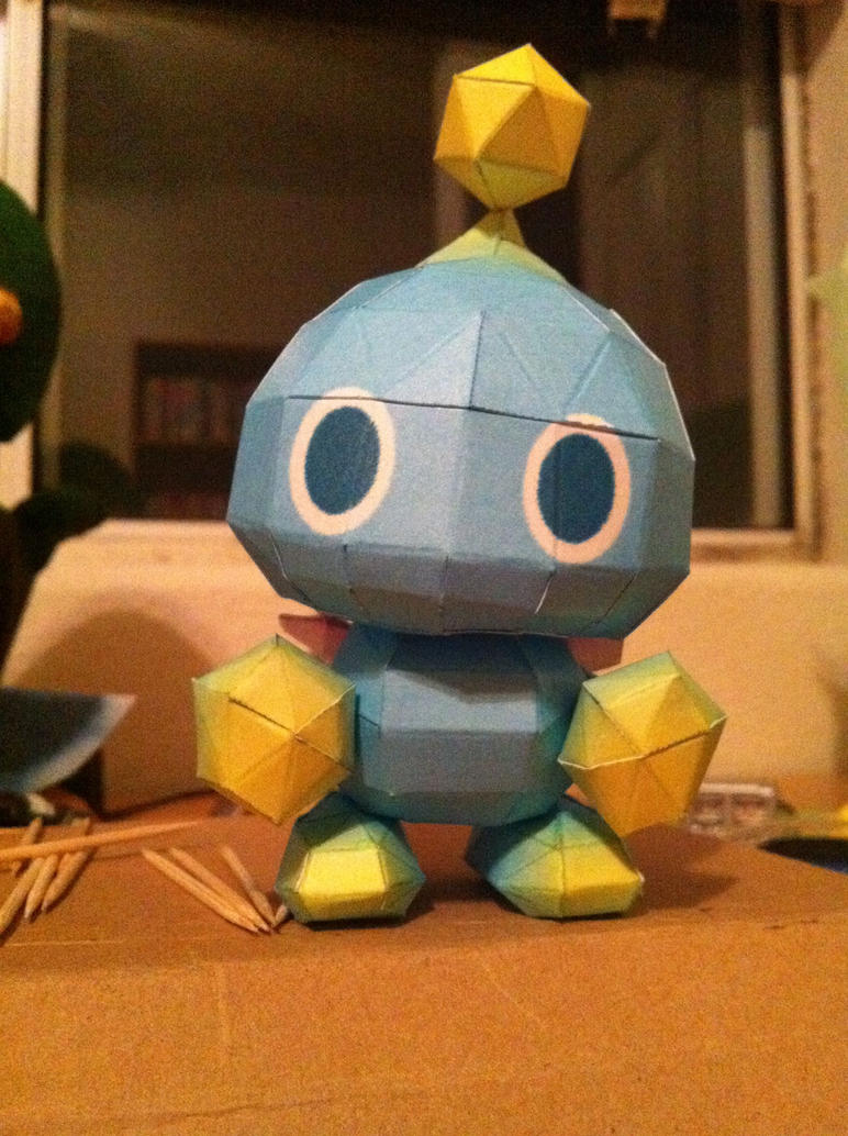 Chao Papercraft by Magedark9