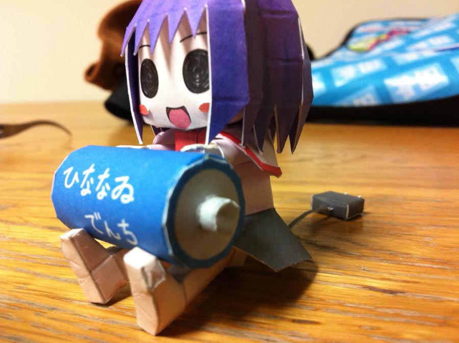 Iku Denchi Papercraft by Magedark9