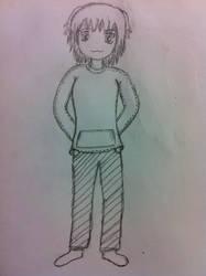 Sketch Girl by Magedark9
