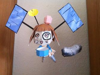 Hayabusa-Chan papercraft by Magedark9
