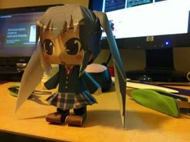 Chibi Azusa Papercraft
