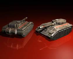 Harkonnen Assault Tank by ccgx
