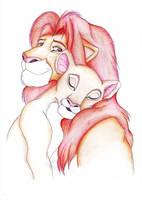 Lion King - Simba and Nala by bexyboo16