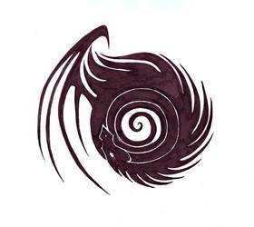 Dragon Tattoo Design IX