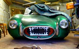 AC Cobra Drag Car Grill