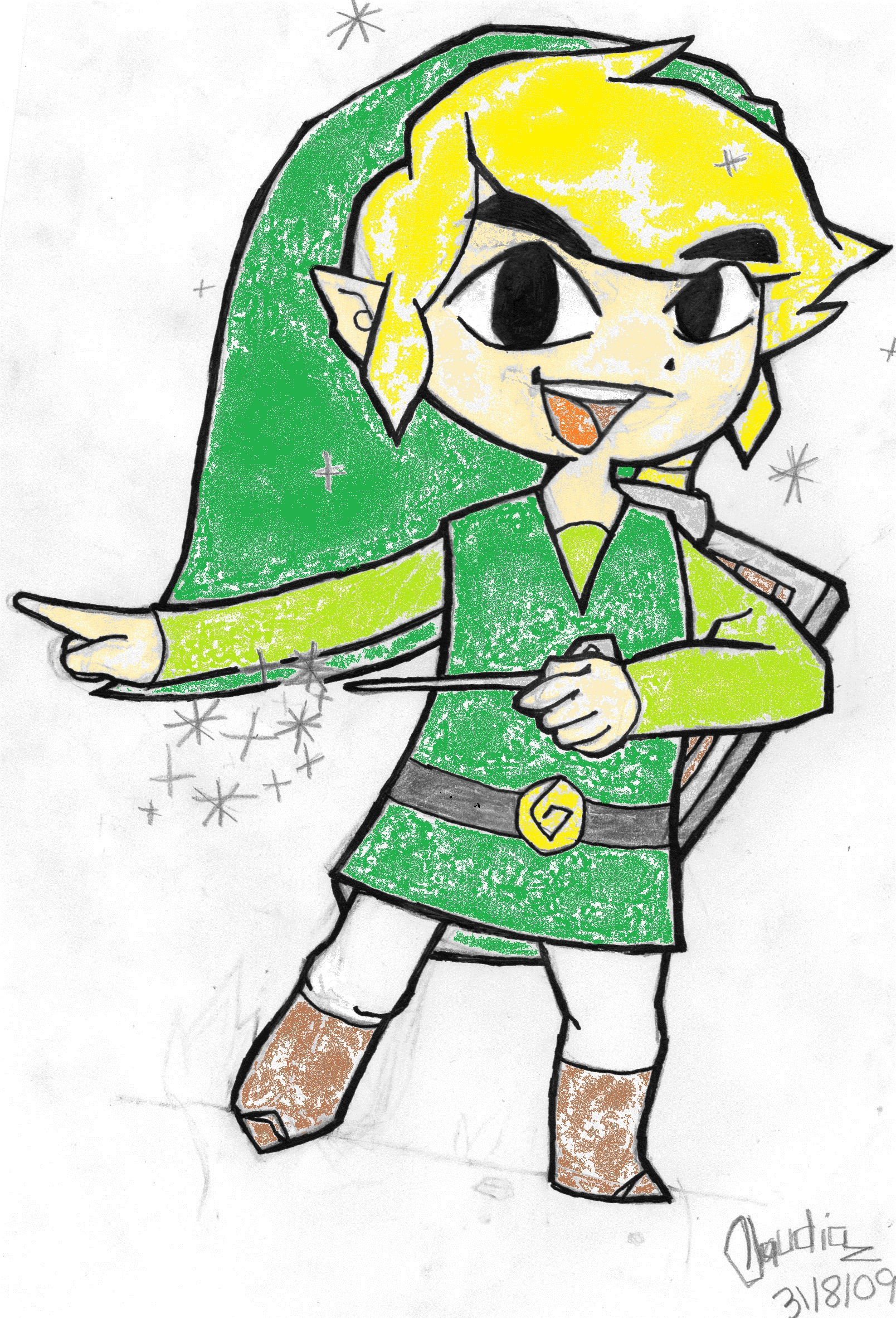 TLoZ:The Wind Waker-Toon Link by diaxa on DeviantArt