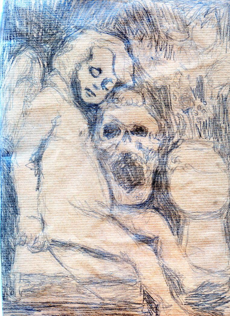 Memento Mori (Scan Color) by diaxa