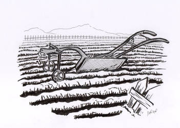 Day 22. Plough by diaxa
