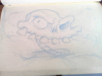New Sir Daniel Fortesque sketch! by diaxa