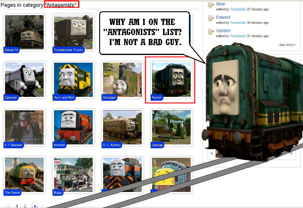 Paxtons reaction to the thomas wiki by eli j brony on deviantart paxtons reaction to the thomas wiki by eli j brony thecheapjerseys Image collections