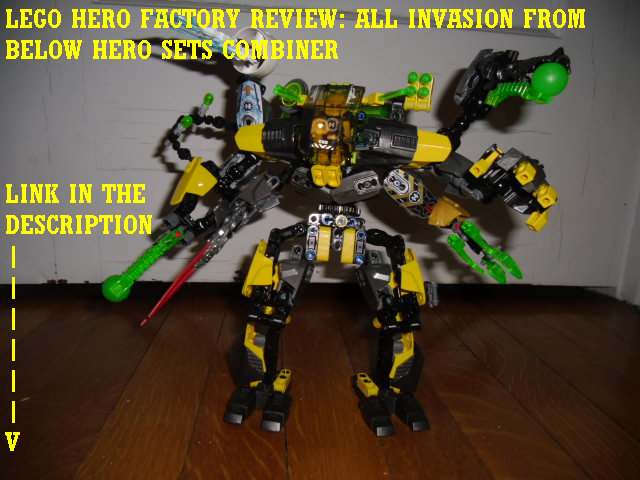 All Invasion From Below Hero Sets Combiner by Eli J Brony ...