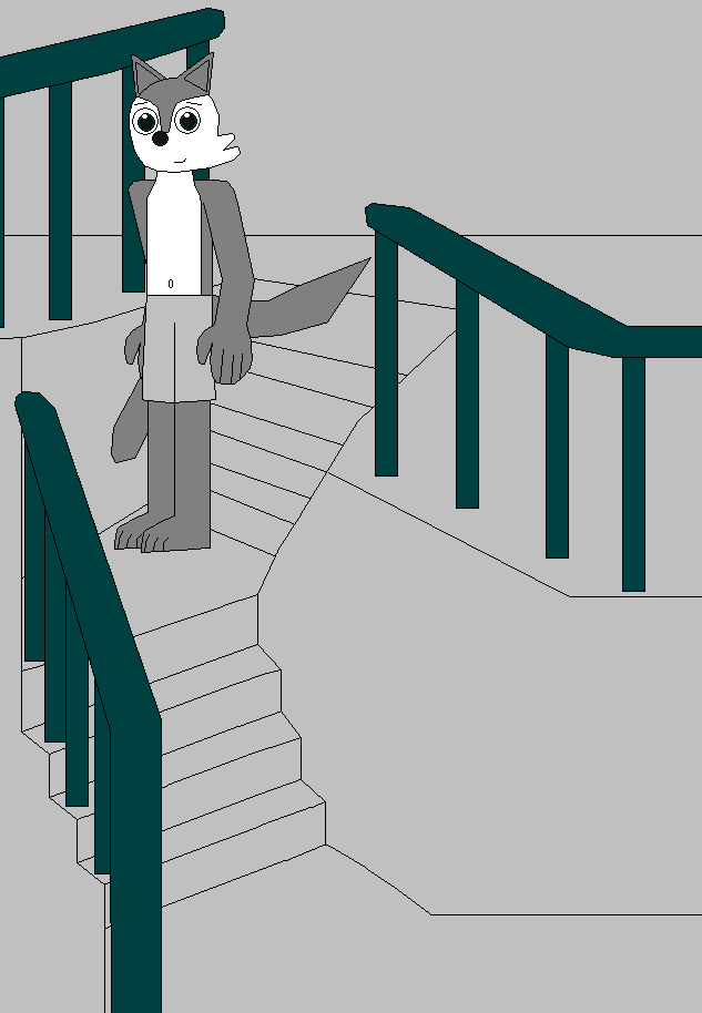 4eaa795f9cf63 Jake Going Down the Stairs by Eli-J-Brony on DeviantArt
