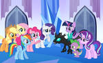 Thorax Meets the Mane Six