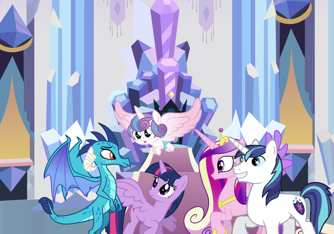 Ember Visits the Crystal Empire
