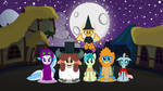 Happy Nightmare Night From Young Six by Eli-J-Brony