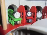 Henry, Rosie, and Hiro
