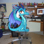 Some Dragon's Been Sitting In My Chair