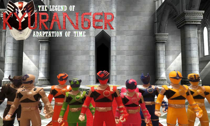 Kyurangers In Temple of Time